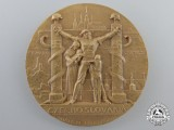 A Second War Czechoslovakian Anti-German Medal