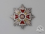 An Order of the Crown of Romania; Grand Cross Breast Star (1932-1947)