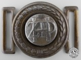 A Banovina of Croatia Railway Buckle (1939-1941)