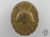 A Gold Grade Wound Badge by Wilhelm Deumer