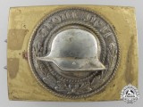 A Veterans Organisation Front Heil Belt Buckle; 1933 Model