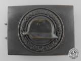 A Field Grey Stahlhelm Veteran's Organisation Belt Buckle