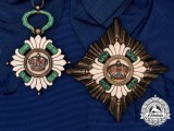 A 1929-1941 Order of the Yugoslavian Crown, Grand Cross Set