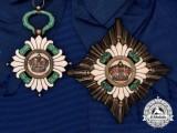A 1929-1941 Order of the Yugoslavian Crown, Grand Cross Set