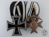 A First War Prussian & Bavarian Award Pair