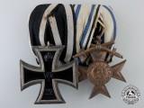 A First War Prussian & Bavarian Award Pair
