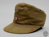 A German Tropical Field Cap (Heer) M41 Field Cap