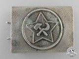 A Red Front Fighter's League  of the Communist Party of Germany Belt Buckle