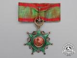 A Turkish Order of Osmania (Osmanli); 3rd ClassCommander
