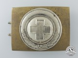 A German Red Cross Enlisted Man's Belt Buckle