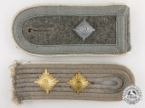 Two German Army Infantry Shoulder Boards