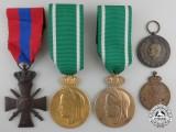 Five Greek Medals & Awards