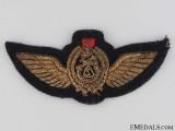 Iraqi Air Force Pilot's Wings Badge
