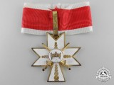 A Croatian Order of King Zvonimir's Crown; 3rd Class with Swords (Military Division)