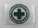 A Post War German School Safety Patrol Belt Buckle