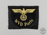 A DRB (German National Railway) WVD Paris Sleeve Eagle
