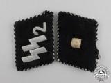 A Waffen-SS Standarte Germania Unterscharführer Rank Shoulder Boards