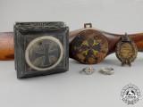 A Trophy Propeller & First War Awards of Pour le Merite Recipient Alfred Keller