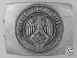 An HJ Enlisted Belt Buckle by Adolf Baumeister; RZM Tag & Published