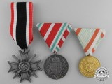 Three European Medals and Awards
