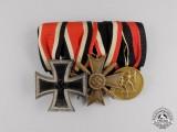 A German Iron Cross 1939 Second Class Medal Bar