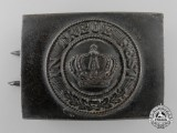 A First War Bavarian Army Belt Buckle