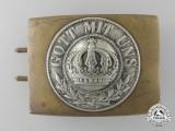 A First War Prussian Army Belt Buckle