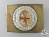 A German Athletic Association (Deutscher Turnerbund) Belt Buckle