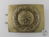 A German Chimney Sweep (Kaminkehrer) Belt Buckle
