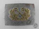A German Private Night Watchman's Belt Buckle