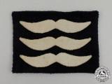 A Second War Luftwaffe Sergeant Rank Sleeve Patch