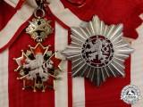 A Czechoslovakian Order of the White Lion; 1st Class Grand Cross Set