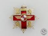 A Spanish Cross of Aeronautical Merit with Red Distinction; 2nd Class Breast Star (1938-1975)