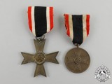A Second War Grouping of a War Merit Cross Second Class & a War Merit Medal