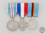 A Cold War British Medal Trio to Sergeant H.W. Stubley 35 Bomber Squadron