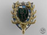 A Bavarian Hunting Association Badge by C. Poellath