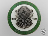 A Deutsche Jägerschaft 50-year Membership Badge