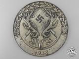 A 1938 German Hunting Association Deutsche Jägerschaft Plaque
