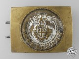 An SA (Sturmabteilungen) Enlisted Man's Belt Buckle; Published Example