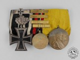 A Fine 1870 Iron Cross with 1914 Spange Medal Bar