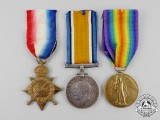 A First War Trio to Sapper (Sergeant) Cyril D. Mackenzie, Royal Engineers