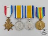 Four First War British Awards