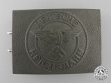 A 1933-1945 Pattern Police/Railway Defence Enlisted Man's Belt Buckle