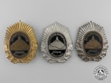 Three Weimar Republic Veterans Badges
