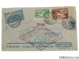 LZ 127 Graf Zeppelin Air Mail Envelope 1930