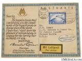 LZ 127 Graf Zeppelin Postcard 1928