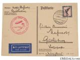 LZ 127 Graf Zeppelin Postcard, 1929