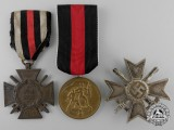 Three German Medals & Awards