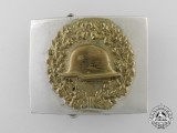 A Stahlhelm Veteran's Organization Belt Buckle