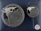A Cased Set of Blockade Runner Badges by Schwerin
